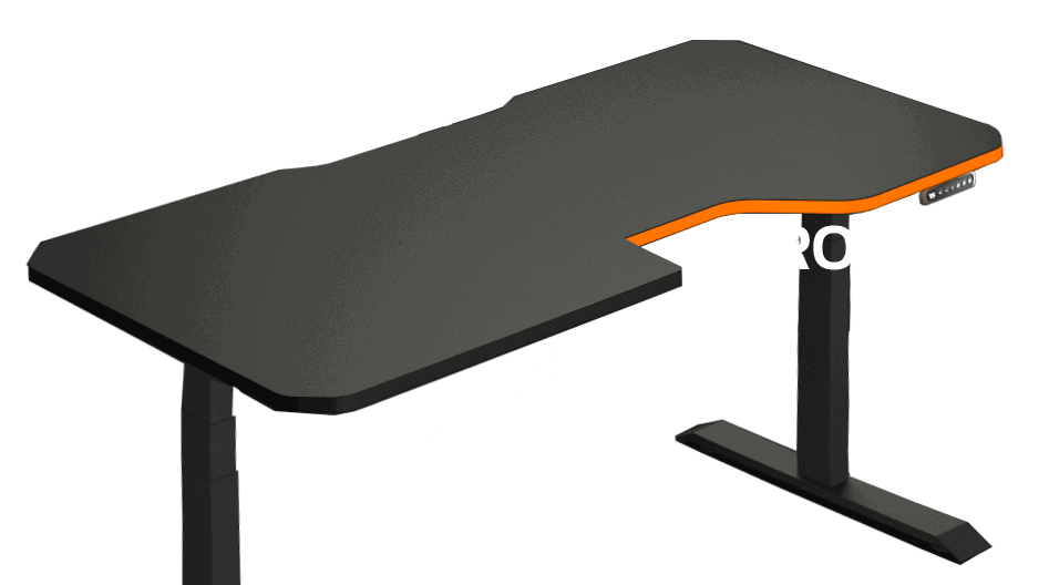leetdesk model pro or classic gaming table variant